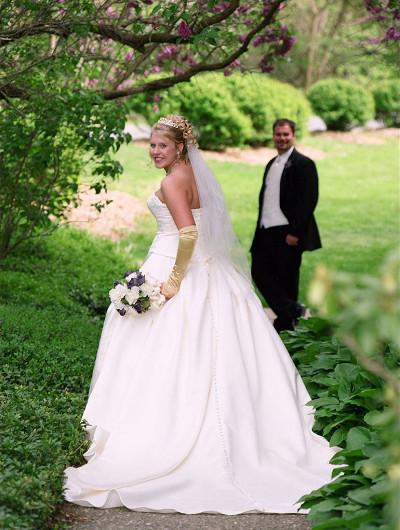 tenues des mariés