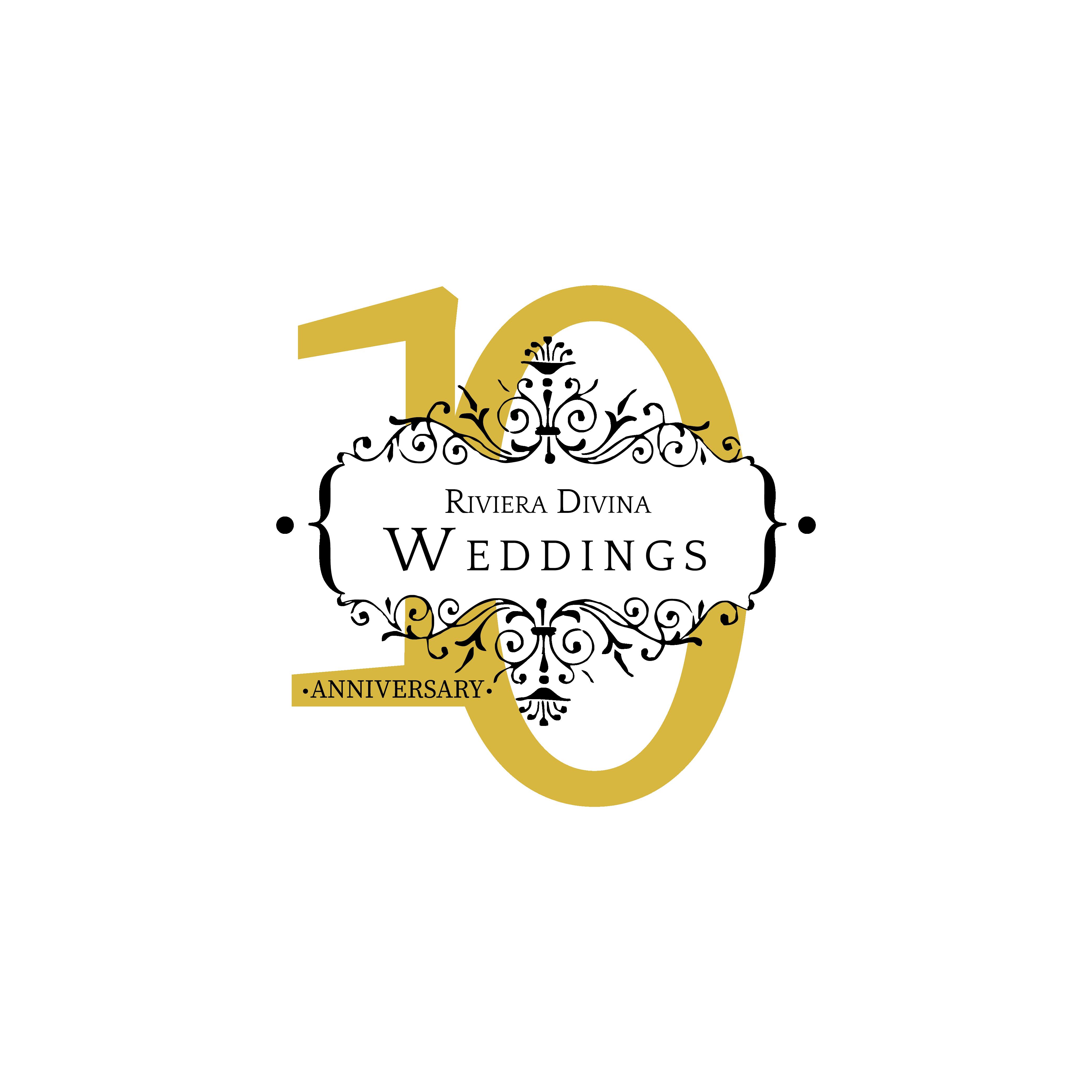 Riviera Divina Weddings 10th anniversary